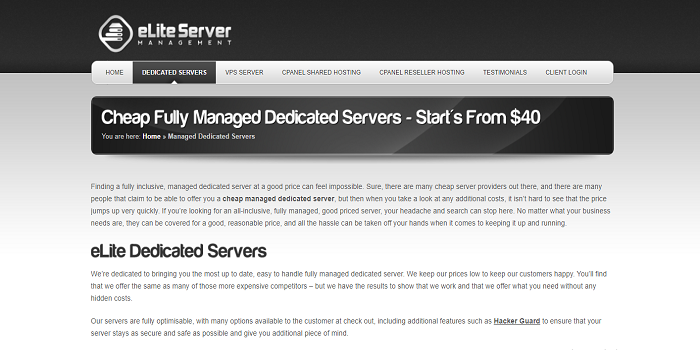 cheap SSD dedicated servers